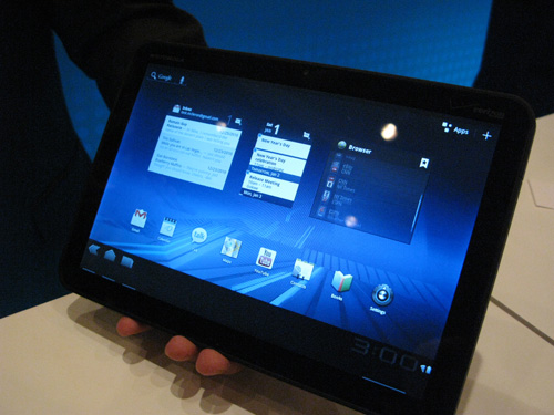 Verizon Motorola Xoom tablet 2