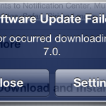 ios7 failed